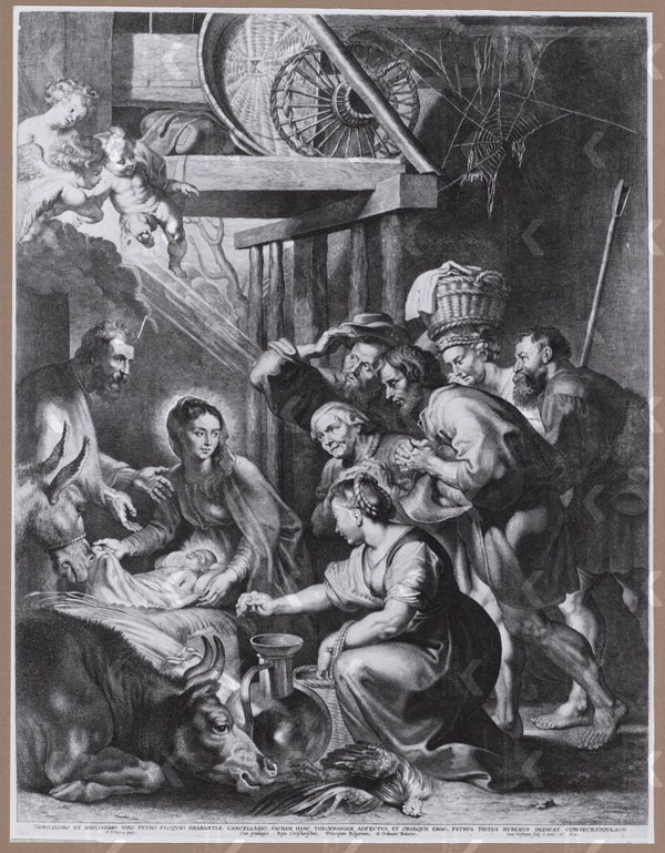 Adoration of the Shepherds engraving