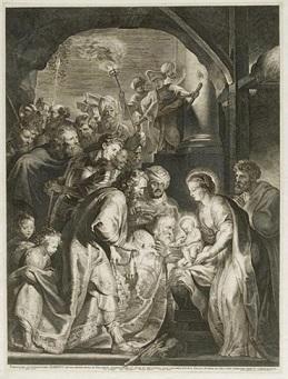 """Rubens Adoration Of The Kings """"Au Flambeau"""""""