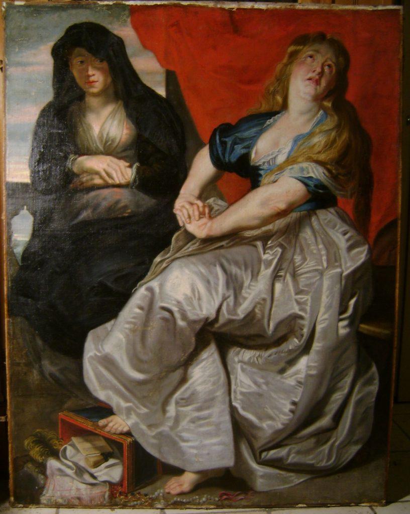 Rubens Penitent Magdalene and Martha