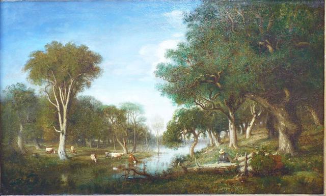 Charles Mannier Landscape