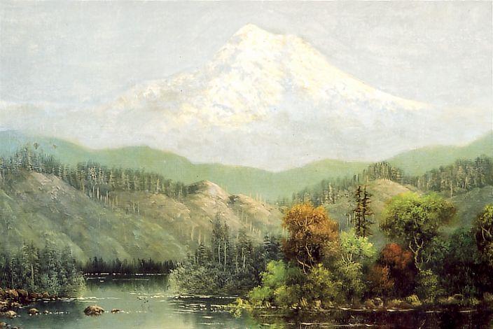 Eliza Barchus Mount Hood Oregon