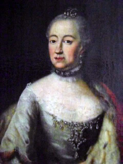 Wife of Louis XV, Marie Leszczyńska 1703-1768