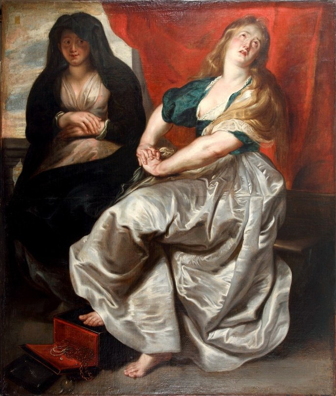 Irbit Museum Penitent Magdalene and Martha by Rubens