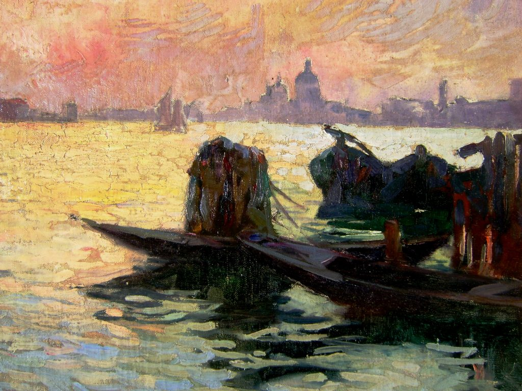 Sidney Lough Thompson Venice scene