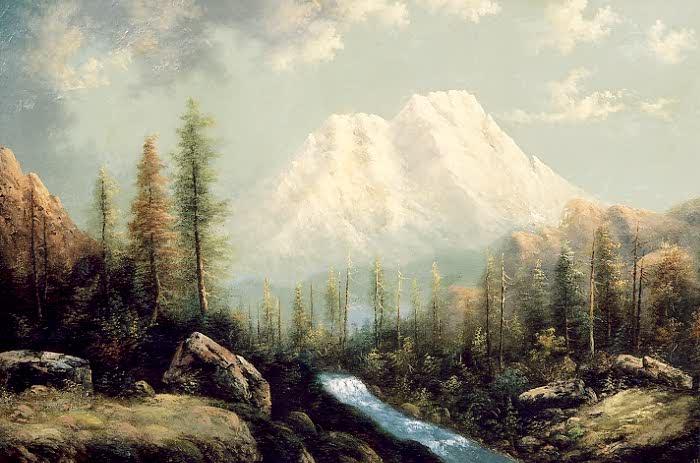 Mount Shasta by Eliza Barchus