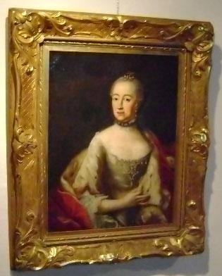 Portrait of Marie Leszczynska 1703-1768