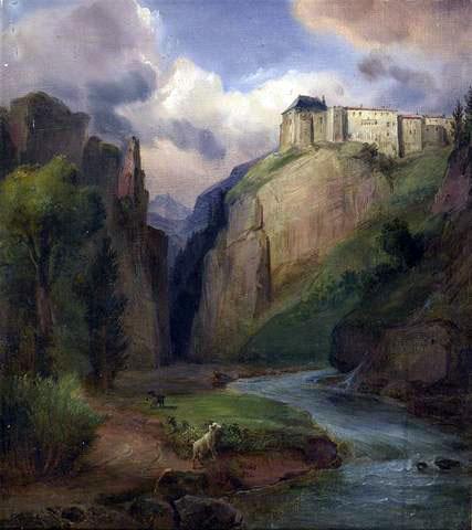 Alps Fortress by François-Edme Ricois
