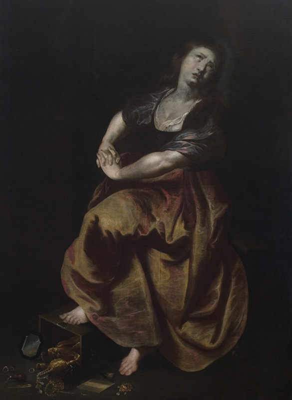 Slovak Version of Rubens Mary Magdalene
