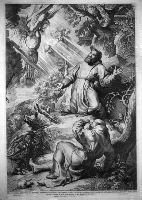 Peter Paul Rubens St Francis